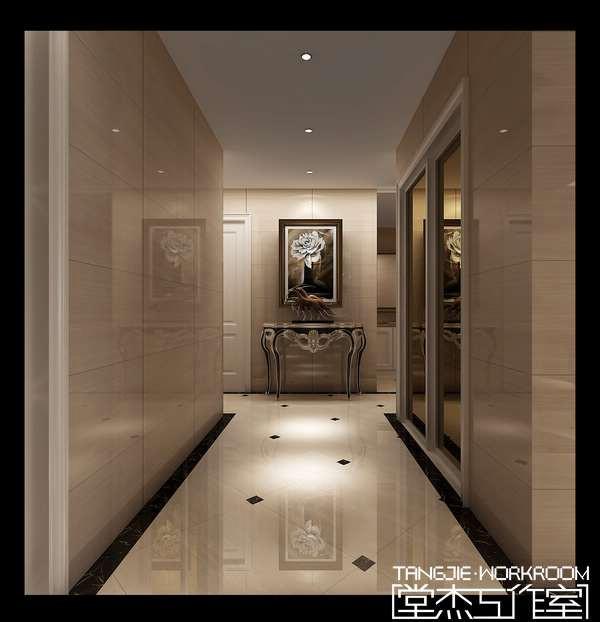 客厅走廊装修效果图,进门长走廊装修效果图,宾馆走廊装修效