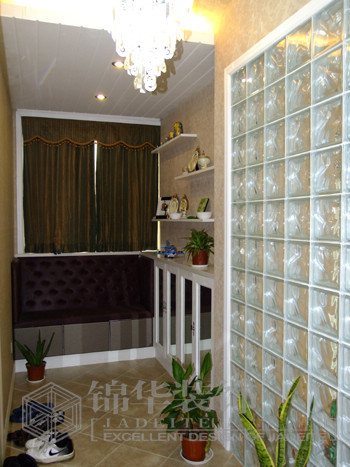 客厅过道 客厅装修效果图 南通锦华装饰